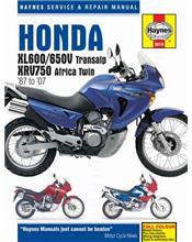 Honda XL600, XL650V Transalp & XRV750 Africa Twin1987 - 2007