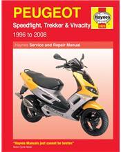 Peugeot Speedfight Trekker & Vivacity Scooters 1996 - 2002