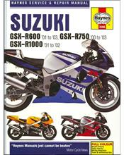 Suzuki GSX-R600, GSX-R750 & GSX-R1000 2001 - 2003