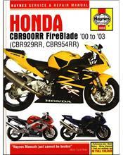 Honda CBR900RR Fireblade, CBR929RR & CBR954RR 2000 - 2003