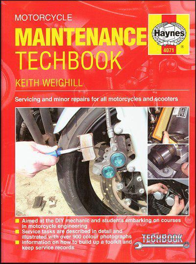 Motorcycle Maintenance: Haynes Techbook