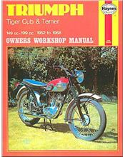 Triumph Tiger Cub & Terrier 1952 - 1968 Haynes Owners Service & Repair Manual