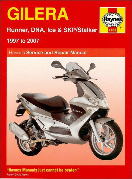 Gilera Runner, DNA, Ice & SKP / Stalker 1997 - 2007