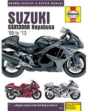 Suzuki GSX1300R Hayabusa 1999 - 2013 Haynes Owners Service & Repair Manual