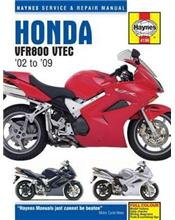 Honda VFR800 VTEC V Fours 2002 - 2009 Haynes Owners Service & Repair Manual