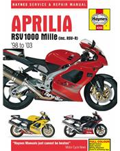 Aprilia RSV 1000 Mille 1998 - 2003 Haynes Owners Service & Repair Manual