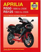 Aprilia RS50 & RS125 1993 - 2006 Haynes Owners Service & Repair Manual
