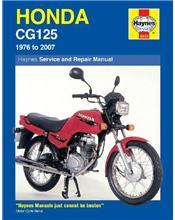 Honda CG125 1976 - 2007 Haynes Owners Service & Repair Manual