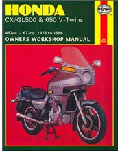 Honda CX500, GL500, CX650, GL650, Silver Wing & Interstate 1978 - 1986