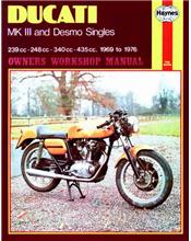 Ducati Mk3 & Desmo Singles 1969 - 1976 Haynes Owners Service & Repair Manual