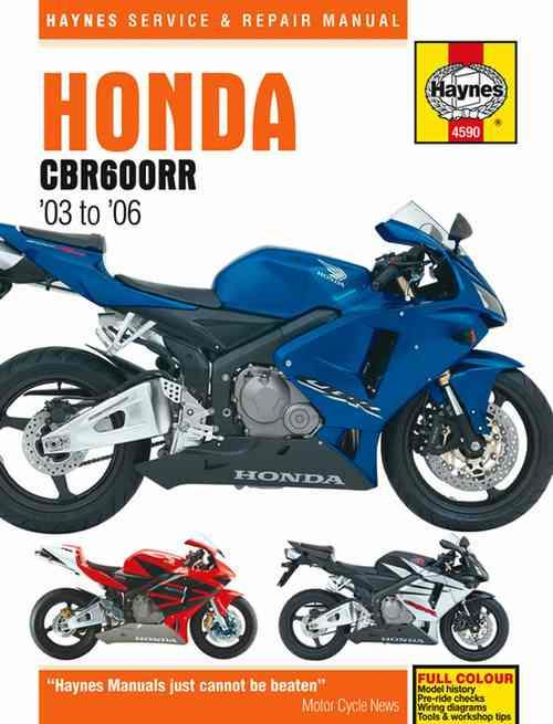 Honda CBR600RR 2003 - 2006 Haynes Owners Service & Repair Manual