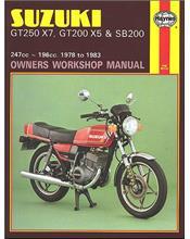 Suzuki GT250 X7, GT200 X5 & SB200 Twins 1978 - 1983