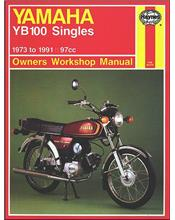 Yamaha YB100 Singles 1973 - 1991 Haynes Owners Service & Repair Manual