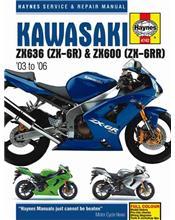 Kawasaki Ninja ZX636, ZX-6R, ZX600, ZX-6RR 2003 - 2006