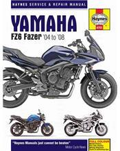 Yamaha FZ6 Fazer 2004 - 2008 Haynes Owners Service & Repair Manual