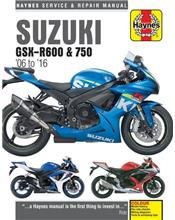 Suzuki GSX-R600 & 750 2006 - 2016 Haynes Owners Service & Repair Manual