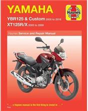 Yamaha YBR125 & XT125R / X 2005 - 2016 Haynes Owners Service & Repair Manual