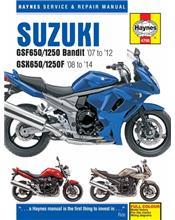 Suzuki GSF650 / 1250 Bandit & GSX650 / 1250F 2007 - 2014