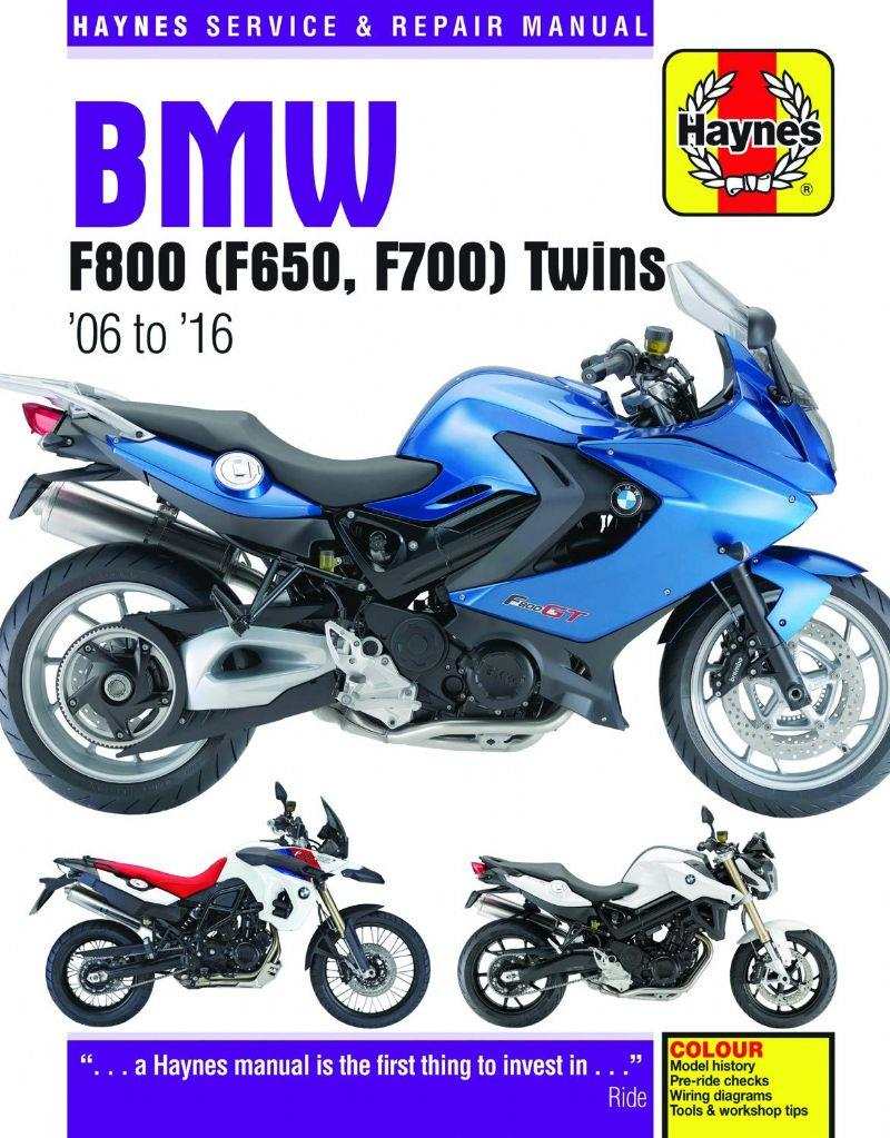 BMW F800, F650 Twins 2006 - 2010 Haynes Owners Service & Repair Manual - Front Cover