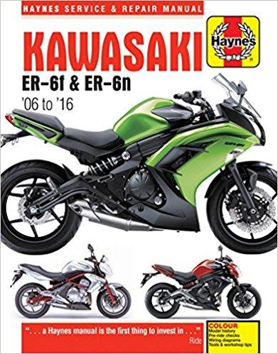 Kawasaki ER-6f and ER-6n 2006 - 2016 Haynes Owners Service & Repair Manual