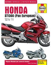 Honda ST1300 Pan European 2002 - 2011 Haynes Owners Service & Repair Manual