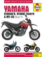 Yamaha XT660X/R, XT660Z Tenere & MT-03 2004 - 2011