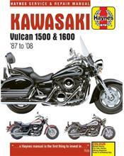 Kawasaki Vulcan 1500 & 1600 1987 - 2008 Haynes Owners Service & Repair Manual