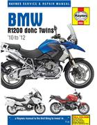 BMW R1200 DOHC 2010 - 2012 Haynes Owners Service & Repair Manual