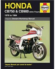 Honda CB750 & CB900 DOHC Fours 1978 - 1984 Haynes Owners Service & Repair Manual