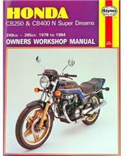 Honda CB250 & CB400N Super Dreams 1978 - 1984