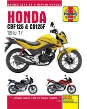 Honda CBF125 2009 - 2017 Haynes Owners Service & Repair Manual
