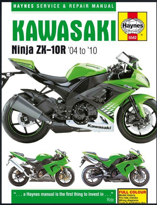 Kawasaki ZX-10R 2004 - 2010 Haynes Owners Service & Repair Manual