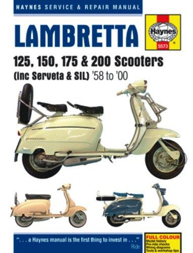 Lambretta Scooters 1958 - 2000 Haynes Owners Service & Repair Manual - Front Cover