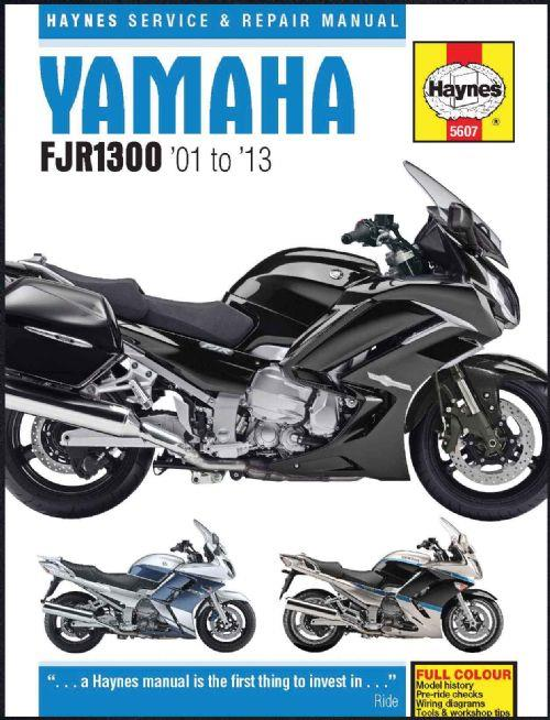 Yamaha FJR1300 2001 - 2013 Haynes Owners Service & Repair Manual - Front Cover