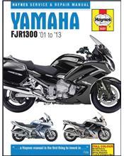 Yamaha FJR1300 2001 - 2013 Haynes Owners Service & Repair Manual