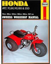 Honda ATC70, ATC90, ATC110, ATC185 & ATC200 1971 - 1981