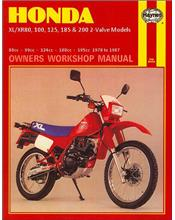 Honda XL/XR80, 100, 125, 185 and 200 2 Valve Models, 1978 - 1987