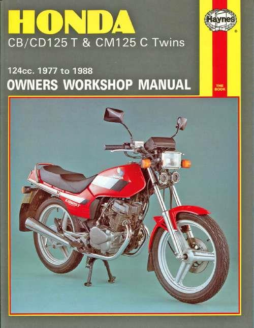 Honda CB125T, CD125T & CM125C Twins 1977 - 1988 - Front Cover