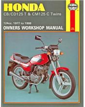 Honda CB125T, CD125T & CM125C Twins 1977 - 1988
