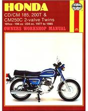 Honda CD185, CM185, CD200, CM200, CM250 Benly & Twinstar 1977 - 1985