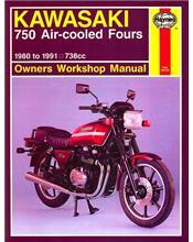 Kawasaki 750 Air-cooled Fours 1980 - 1991 Haynes Owners Service & Repair Manual