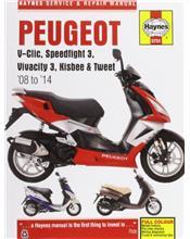 Peugeot V-Clic, Speedfight 3, Vivacity 3, Kisbee & Tweet 2008 - 2014