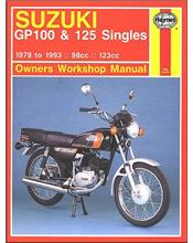 Suzuki GP100 & 125 Singles 1978 - 1993 Haynes Owners Service & Repair Manual