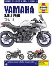 Yamaha XJ6 & FZ6R 2009 - 2015 Haynes Owners Service & Repair Manual