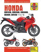 Honda CBR125R, CBR250R & CRF250L/M 2011 - 2014
