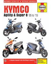 Kymco Agility & Super 2005 - 2015 Haynes Service & Repair Manual