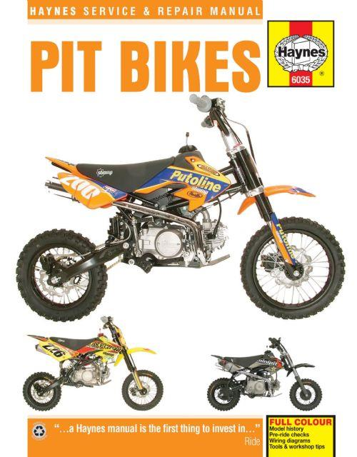 Pit Bikes Haynes Owners Service & Repair Manual