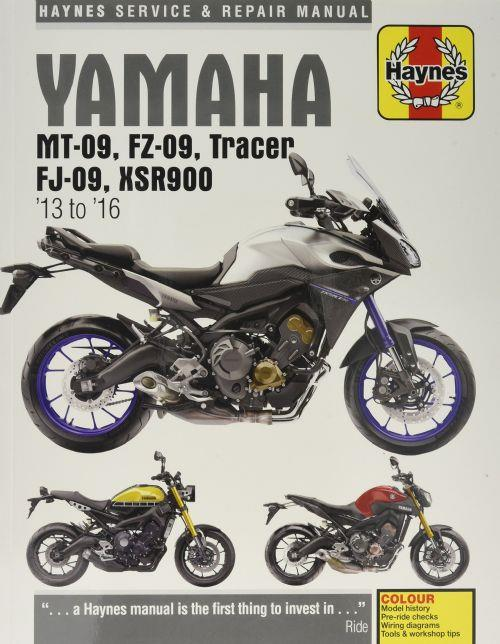Yamaha MT-09, FZ-09, Tracer FJ-09, XSR900 2013 - 2016 - Front Cover