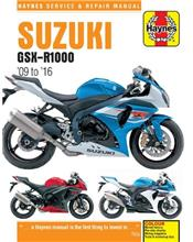 Suzuki GSX-R1000 2009 - 2016 Haynes Owners Service & Repair Manual