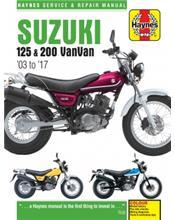 Suzuki RV125 & RV200 VanVan 2003 - 2017 Haynes Owners Service & Repair Manual